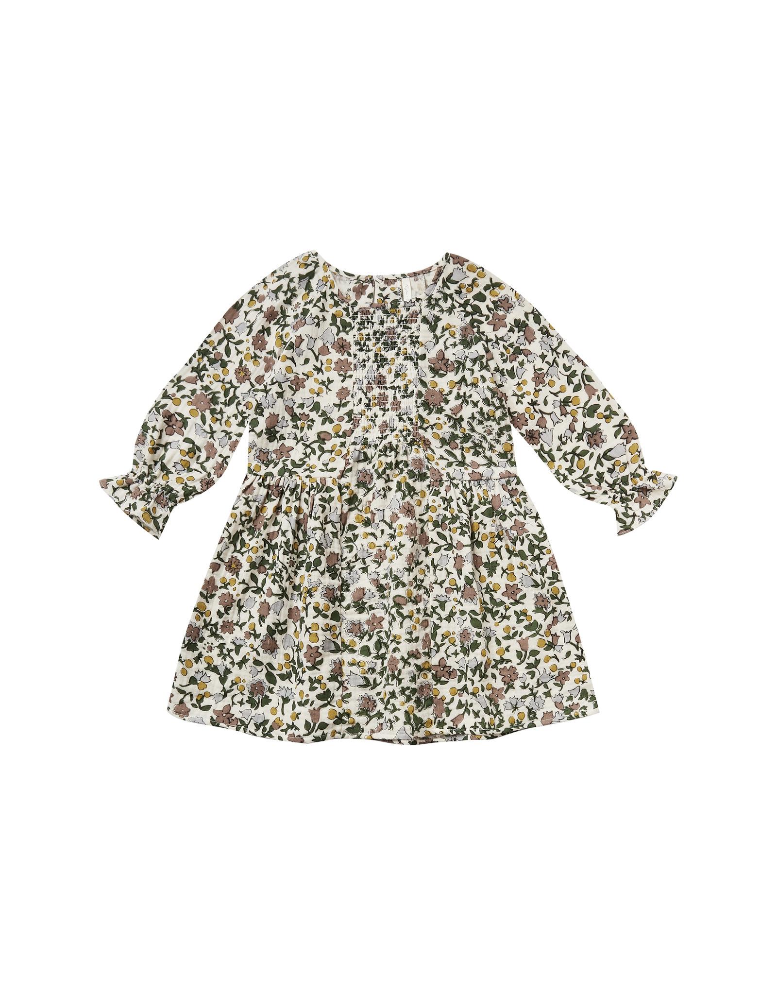 Rylee + Cru Girls Enchanted Garden Floral Dress