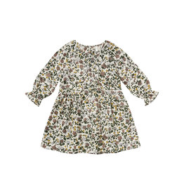 Rylee + Cru Girls Enchanted Garden Floral Dress