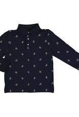 Mayoral Boys Polo Navy Bicycle  Print