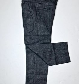 Little Boys Slim Fit Charcoal Flannel Trouser