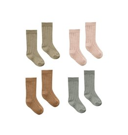 Quincy Mae Infant Ribbed Socks