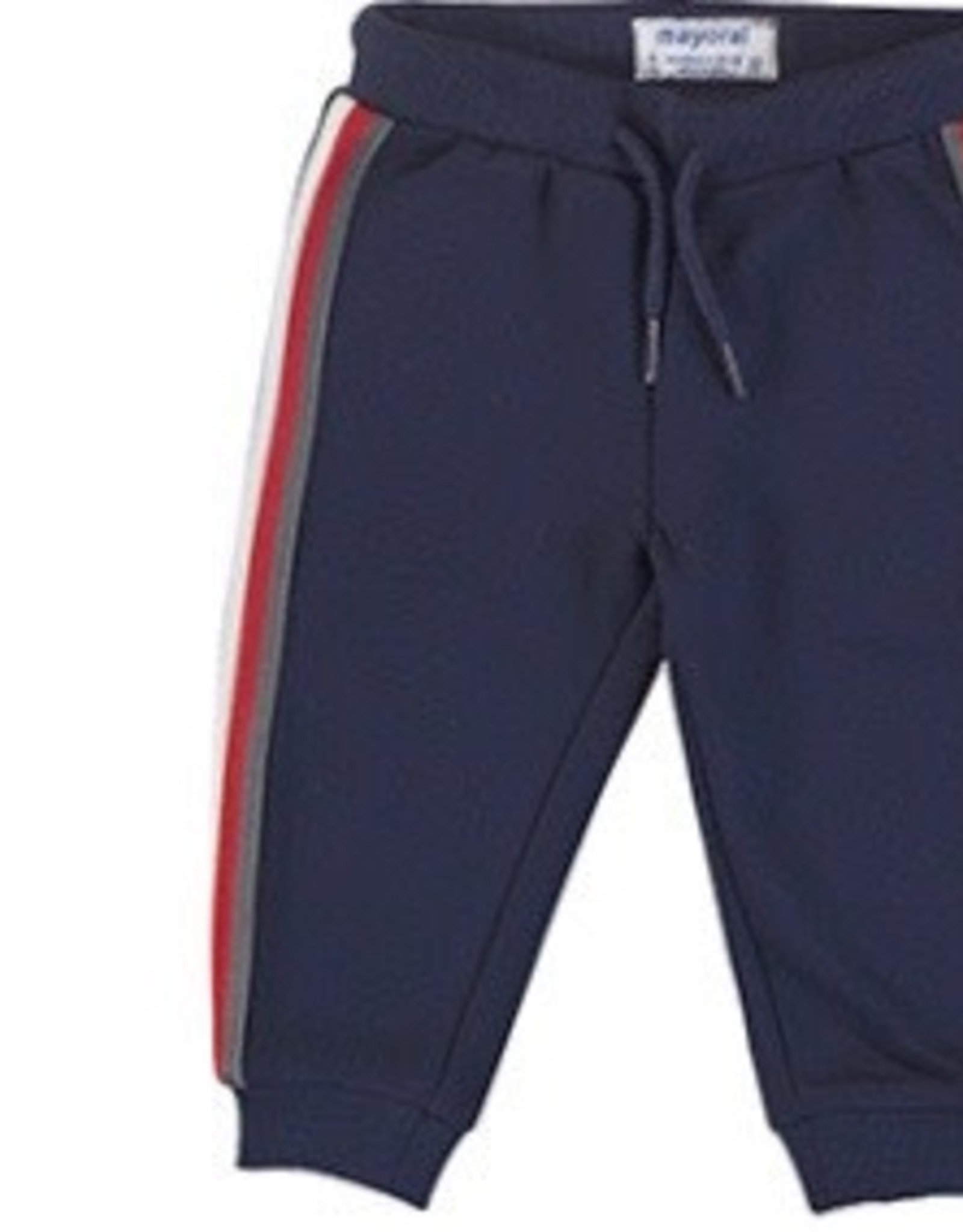 Mayoral Navy Jogger with Side Stripes