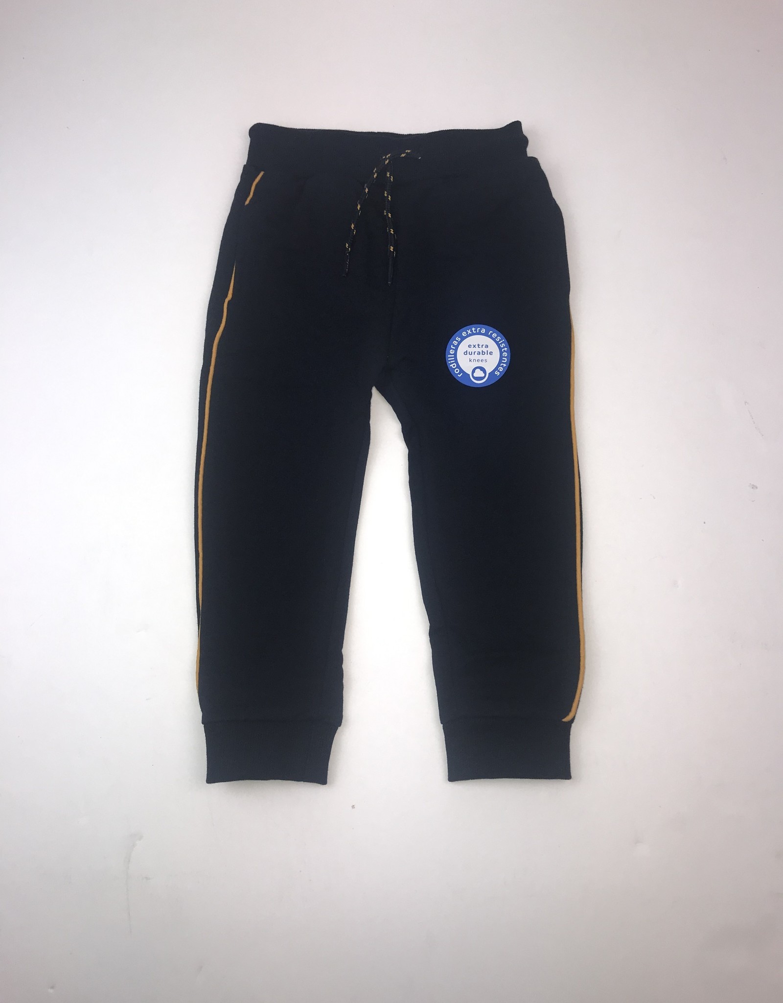 Mayoral Navy Jogger Solid with Yellow Piping