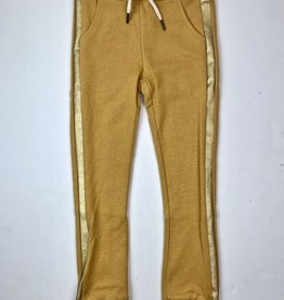 Like Flo Mustard Jogger with gold side stripe 5600