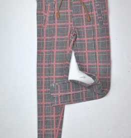 NONO Camel Red plaid knit pant 5600