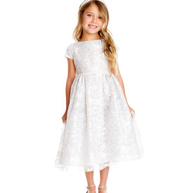 Sweet Kids Embroidered Lace Dress