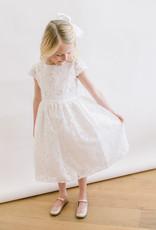 Sweet Kids White appliqué lace Dress