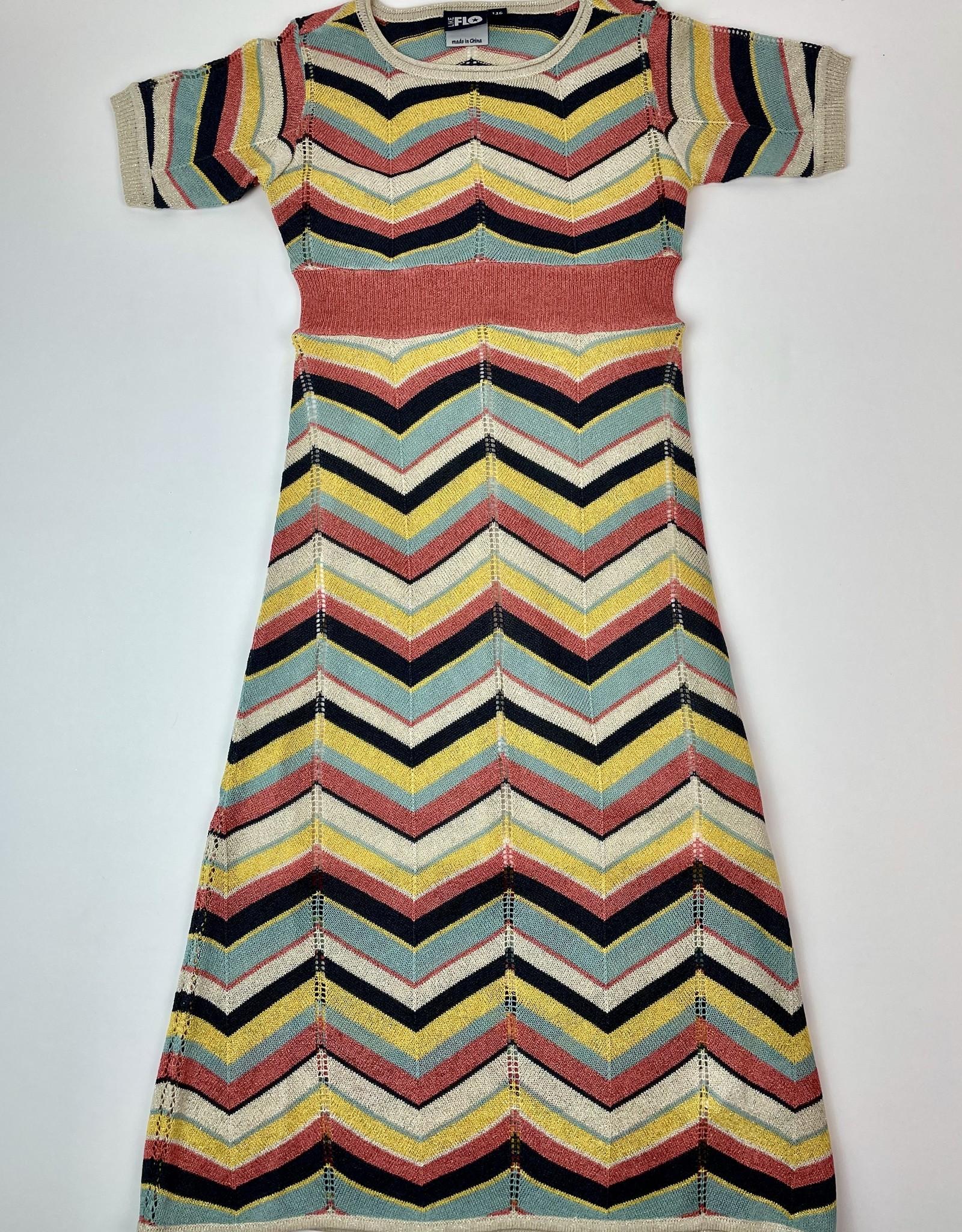 Like Flo Knit Long Dress Missoni Pattern 5800
