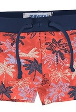 Mayoral Swimsuit Euro Style Red Navy Palm 1674
