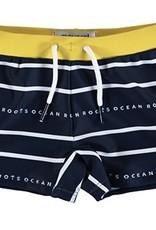 Mayoral Boys Navy Stripe Euro Style Swimsuit
