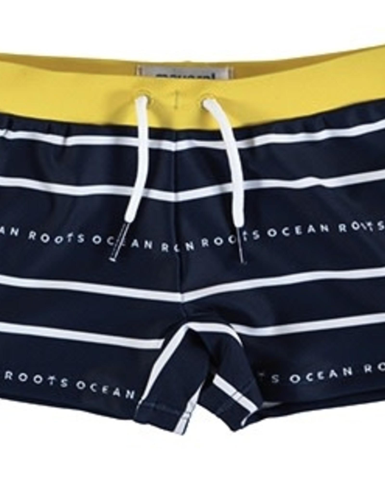 Mayoral Swimsuit Euro style Navy Stripe 3647