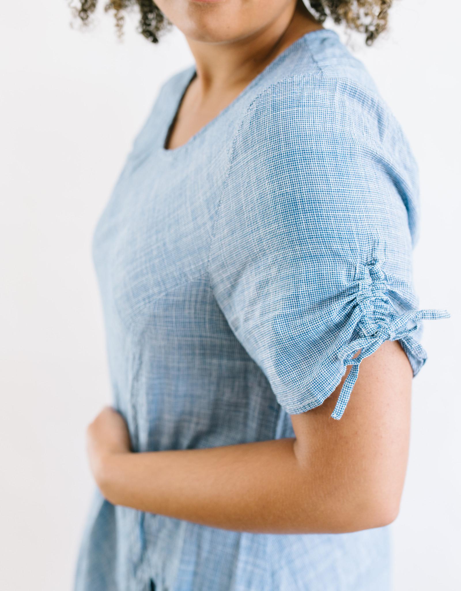 Blue Langley Dress