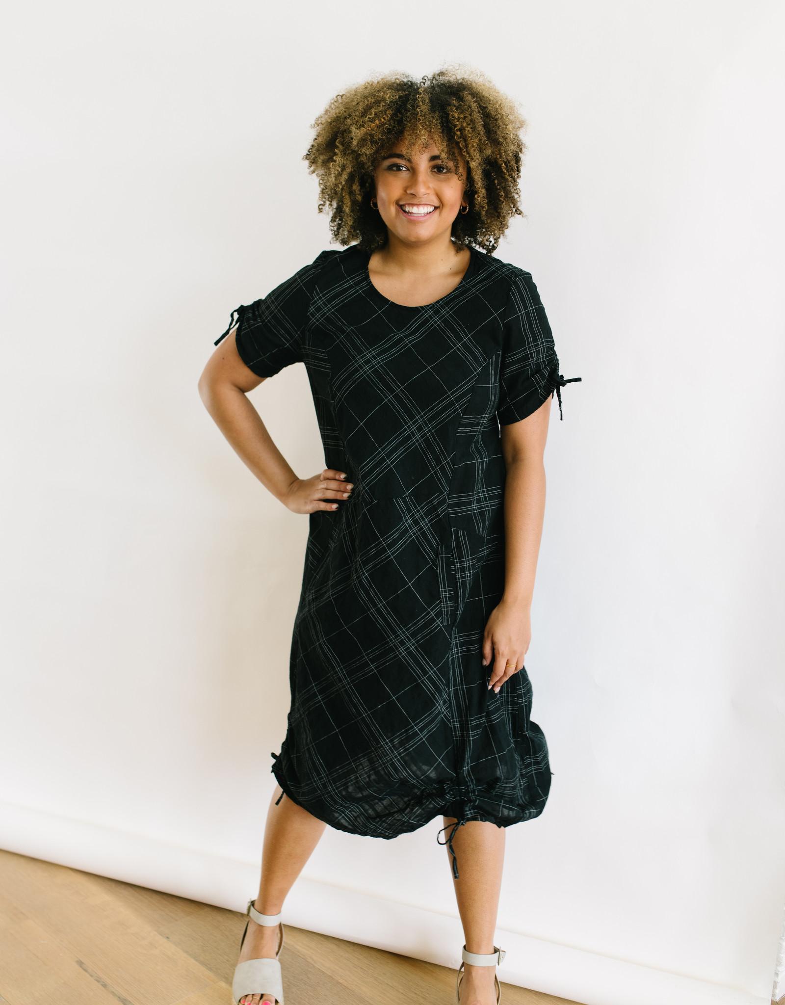 Black Langley Dress