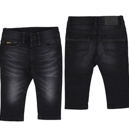 Mayoral Black vintage Soft Jeans 2584
