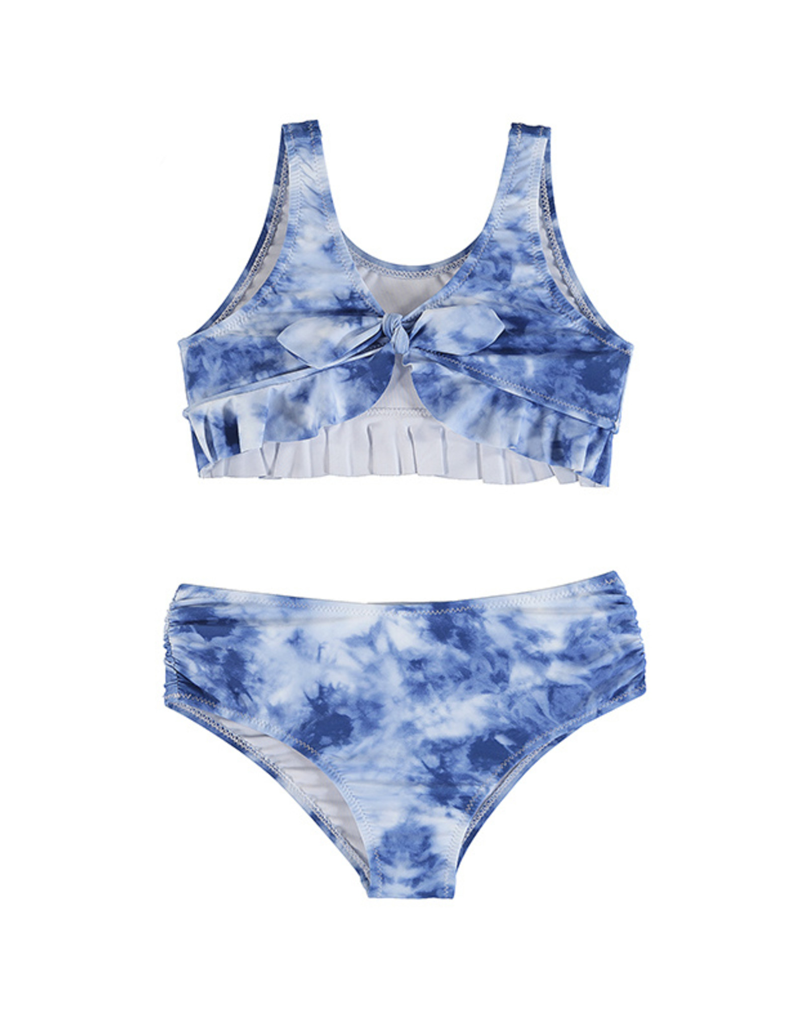 Mayoral Blue Tie Dye 2 Piece Swimsuit