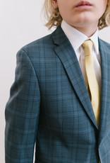 Michael Kors Suit Dark Blue Light Blue Plaid