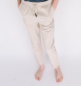 Leo and Zachary Oyster Drawstring Pant