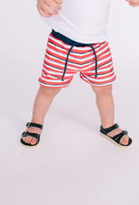 Mayoral Infant Euro Style Swimsuit Red Stripe