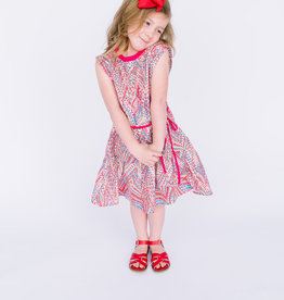 Dress Fushcia Confetti print dress