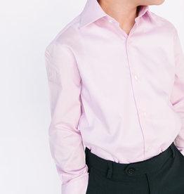 Michael Kors Solid Boys Broadcloth Shirt  - 3 color options