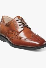 florsheim Shoes Cognac Wingtip