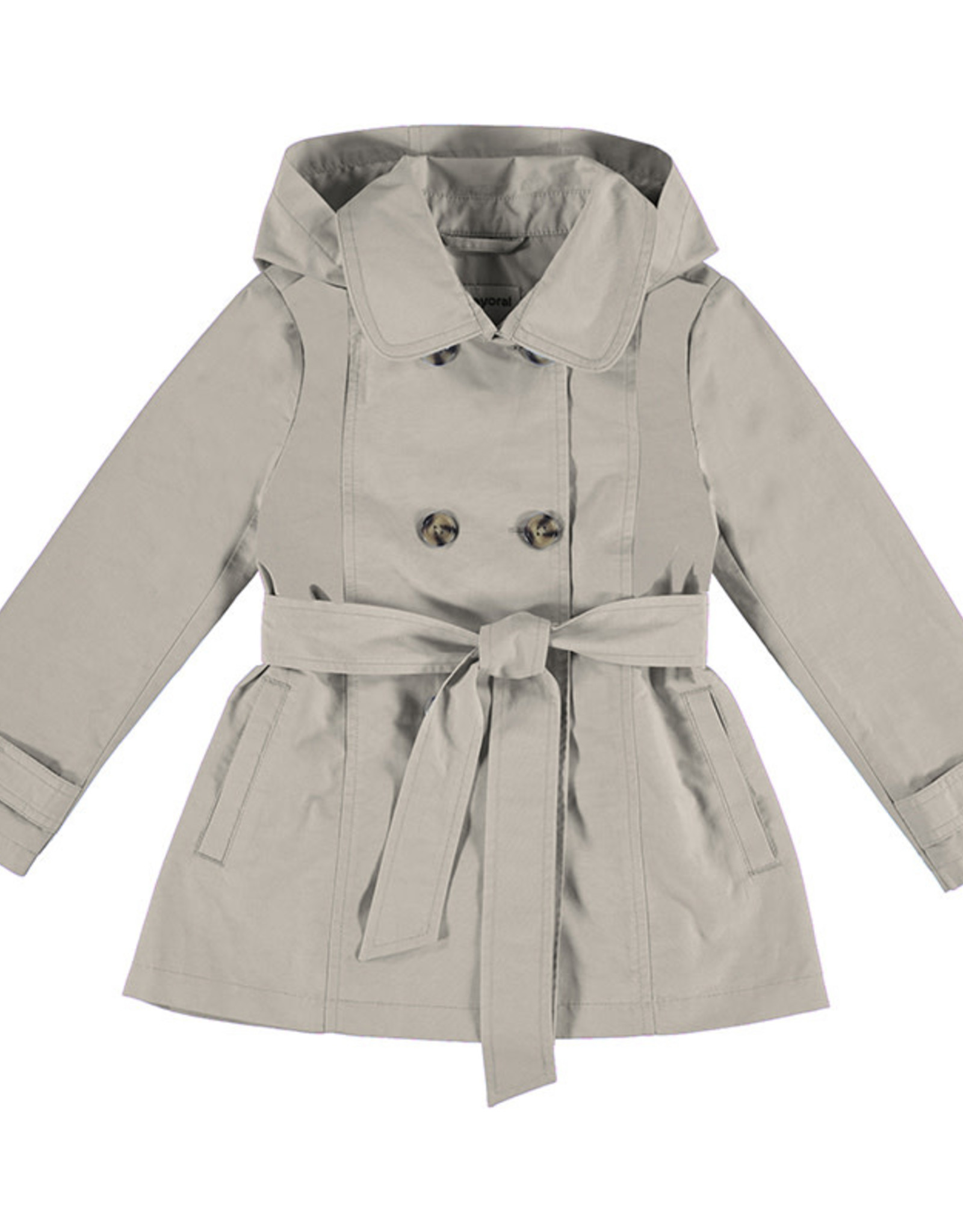Mayoral Girls Tan Trench Coat