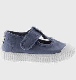 Victoria Canvas T-Strap Shoe