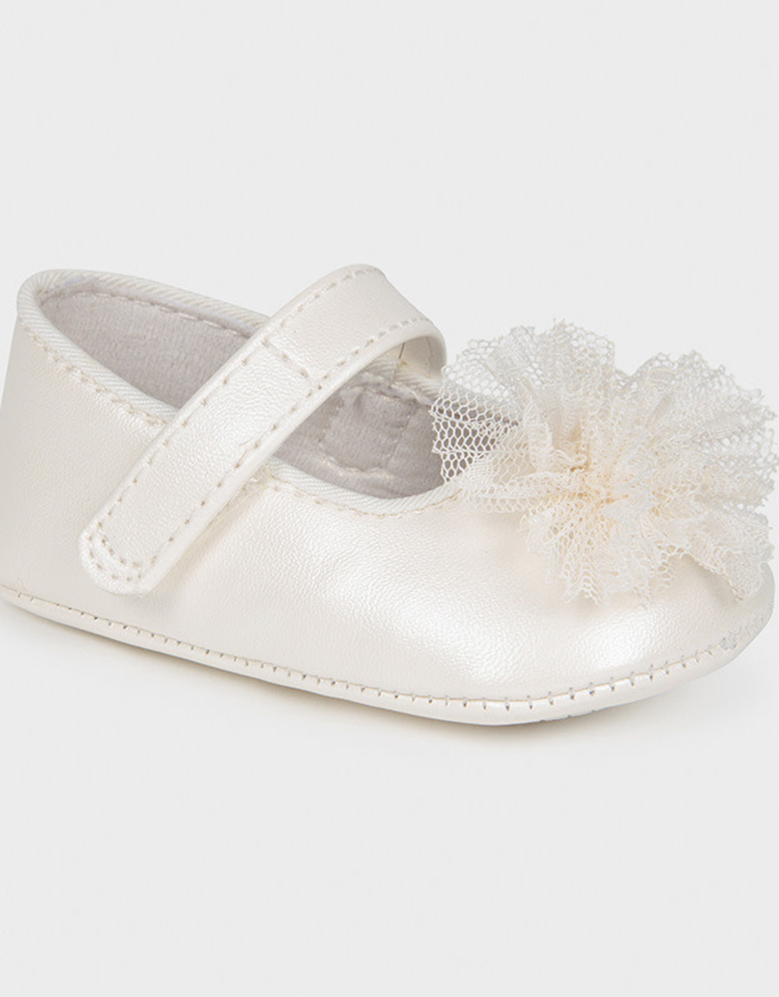 Mayoral Baby shoes Maryjane with tulle flower 9403
