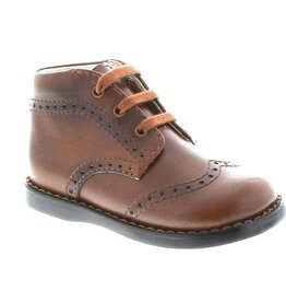 Footmates Cognac Perforated Boot
