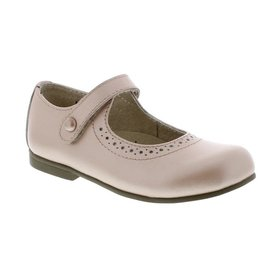 Footmates Classic Maryjane  Button Velcro