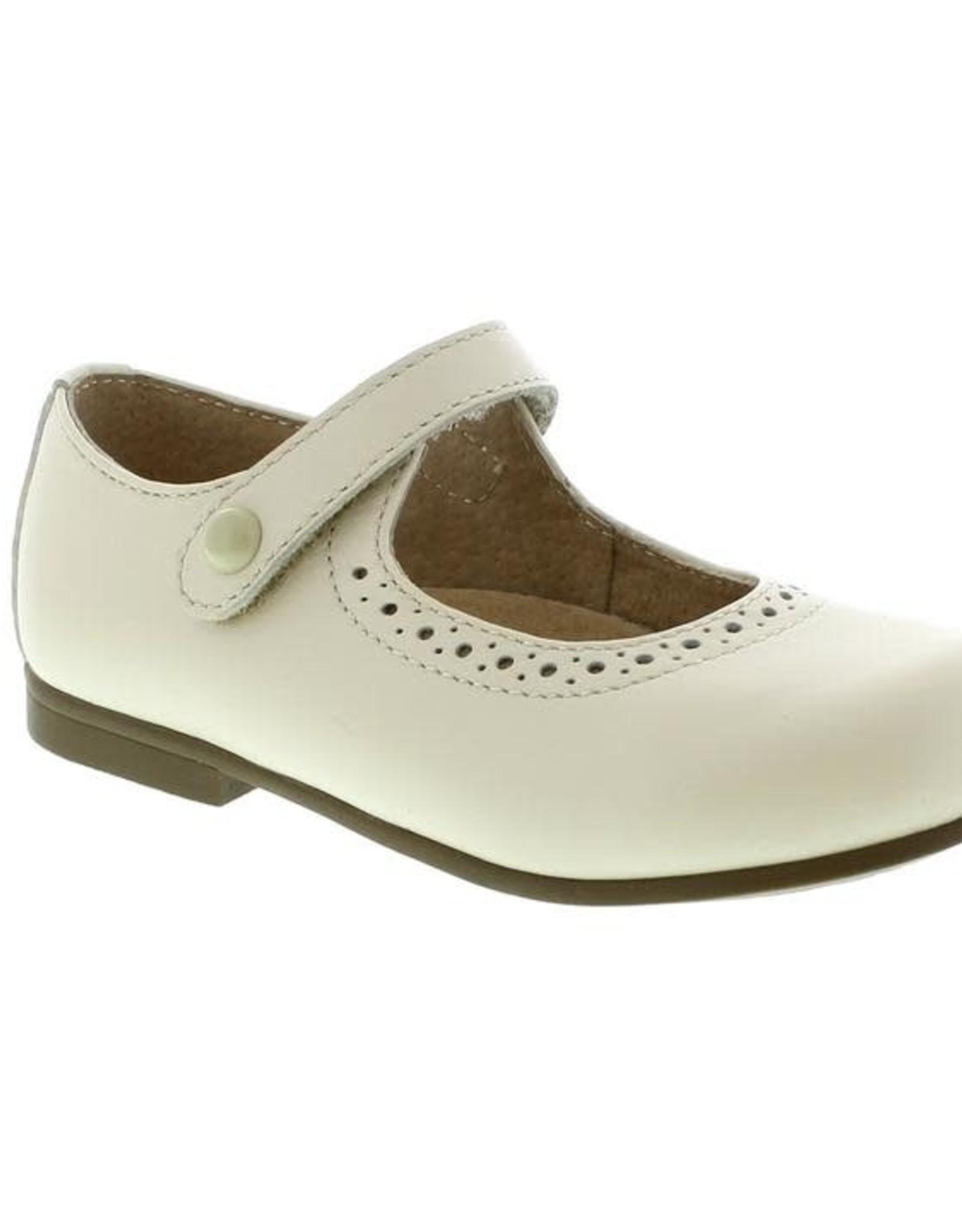 Footmates Classic Maryjane  Button Velcro Emma