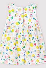 Petit Bateau Dress Bright Fruit Print