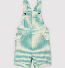 Petit Bateau Green stripe Overall