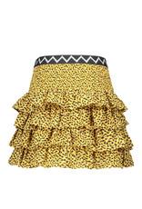 Like Flo Clay Paisley Ruffle Skirt 5720