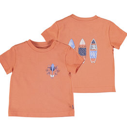 Mayoral Salmon Tee with Surfboards