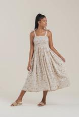 Rylee + Cru Gold Garden Dress