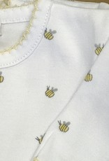 KissyKissy Yellow Bee Print Footie