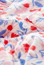 Petit Bateau Pink Gauze Floral Dress & Bloomer A0022