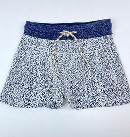 Like Flo Knit Short navy Leopard print