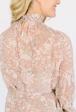 Bridwater Garden Chiffon Dress