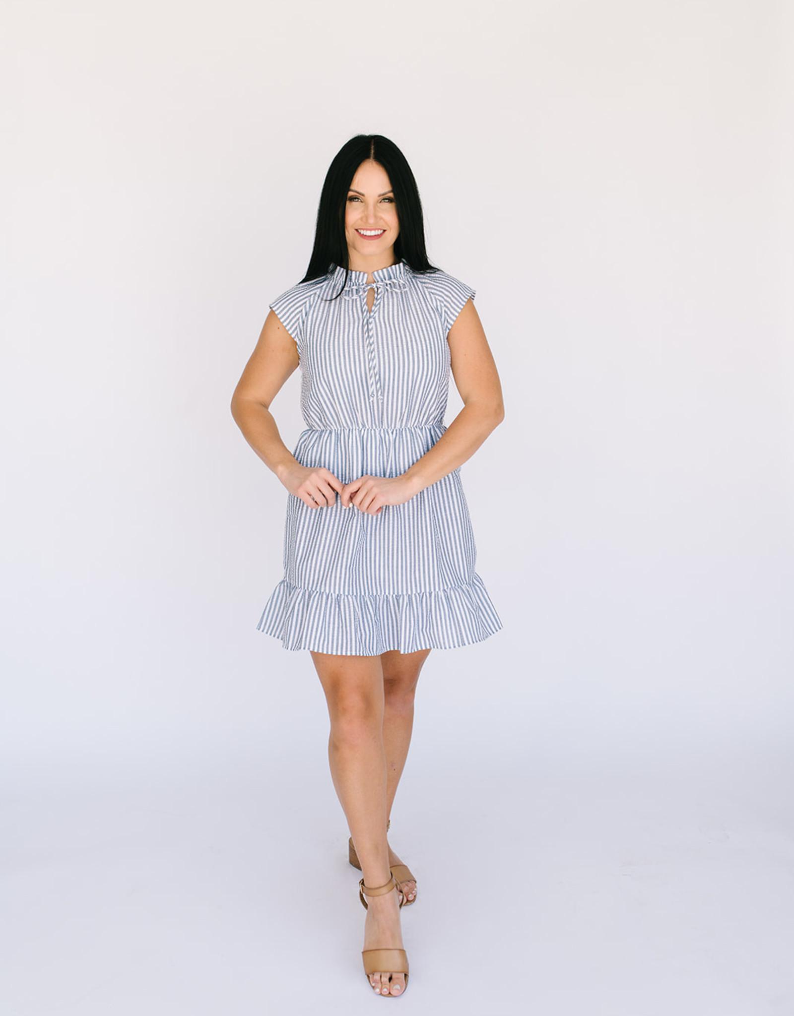 Kenley Seersucker Dress
