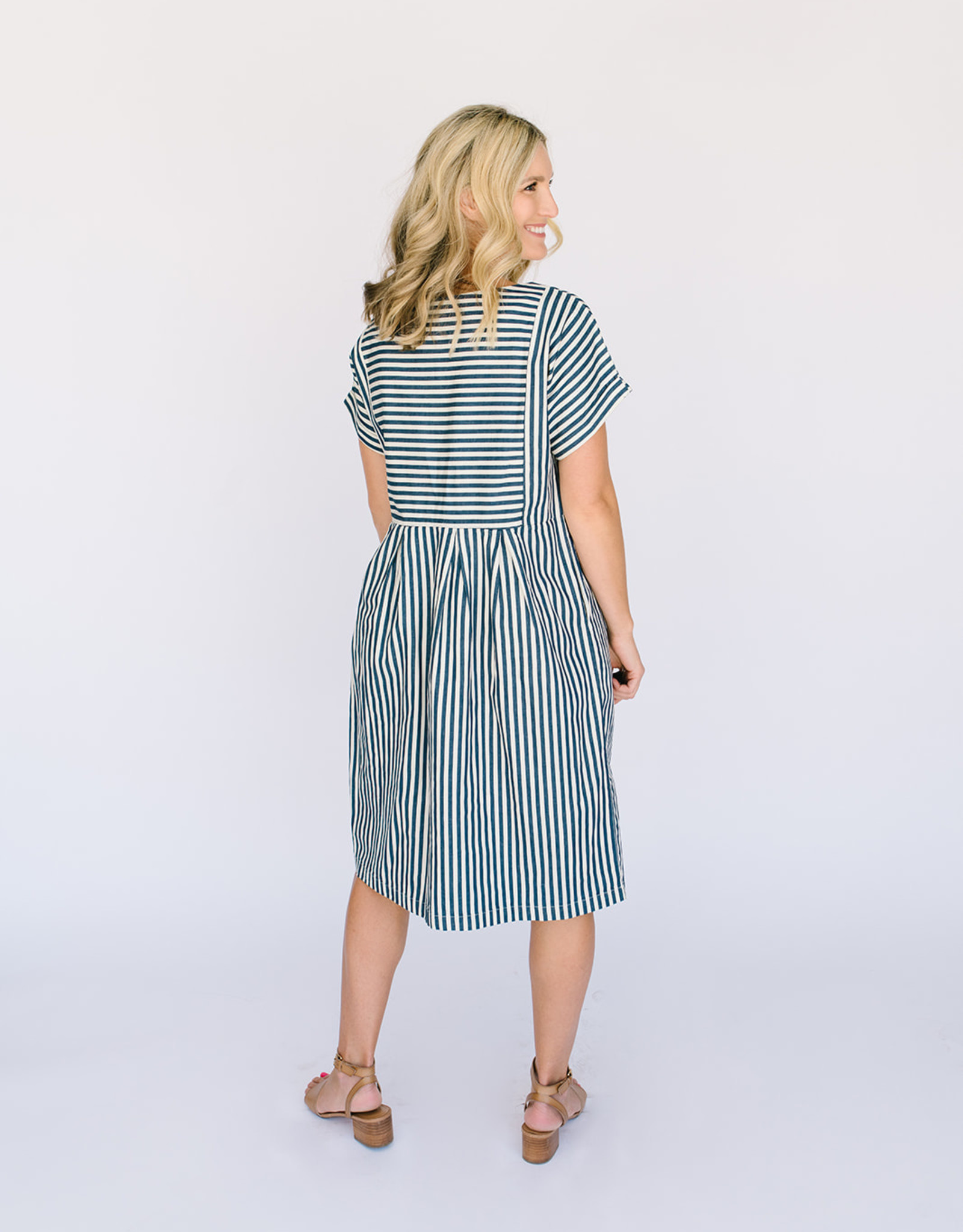 Newbury Twill Stripe Dress