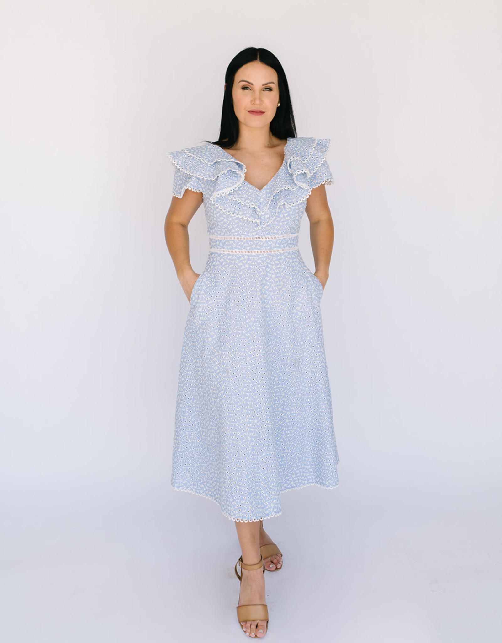 Southampton Eyelet  Dress