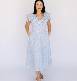 Southampton Blue Eyelet Dress