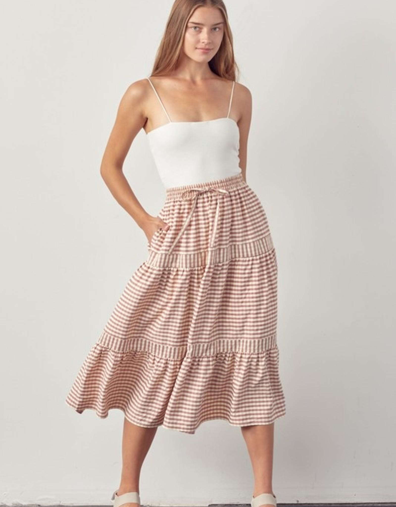 Cardiff Gingham Skirt