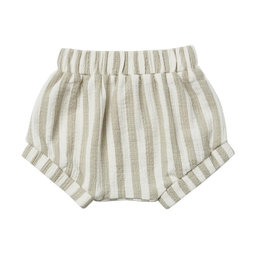 Quincy Mae Short Sage Stripe