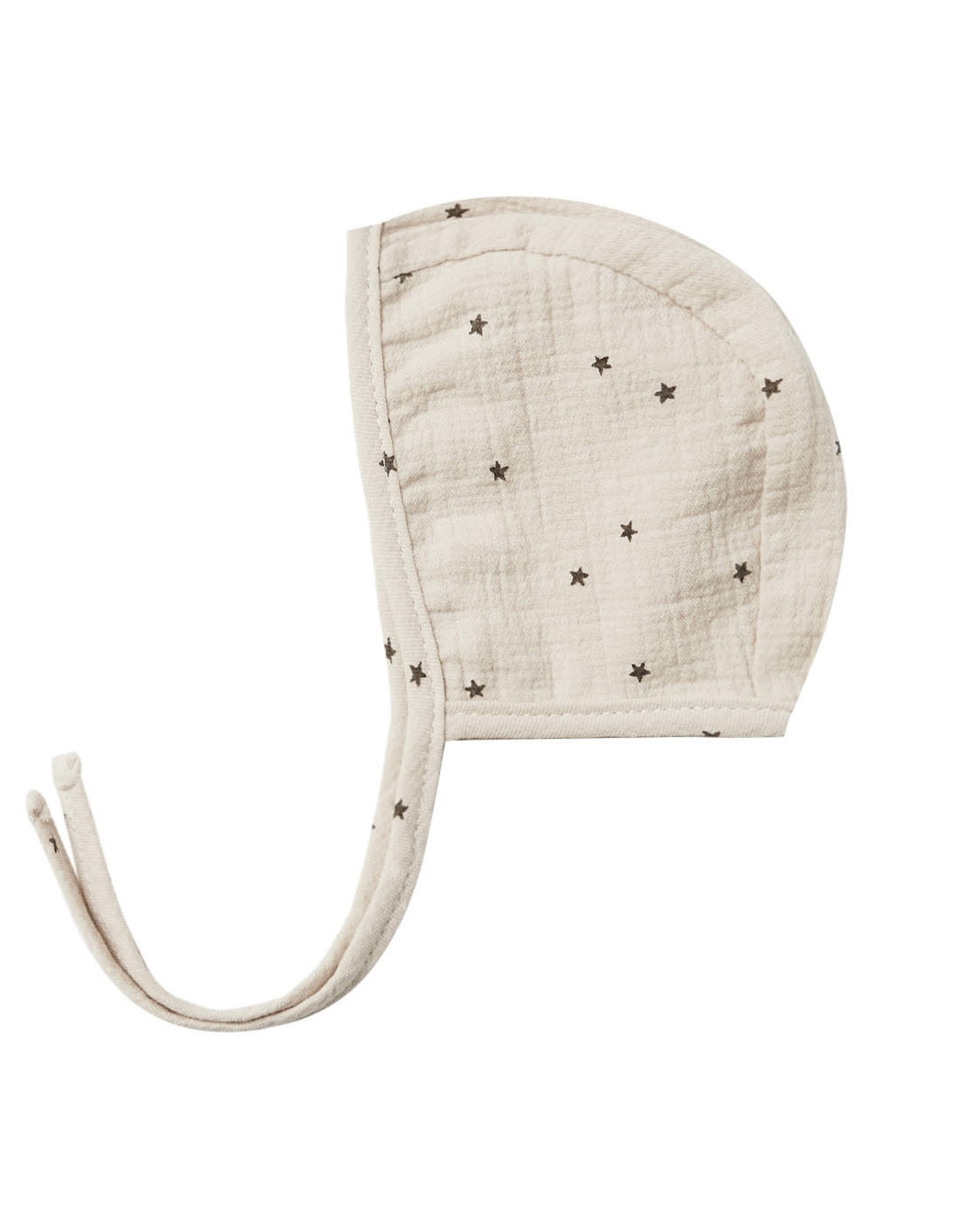 Quincy Mae Bonnet Ivory Gauze With Stars