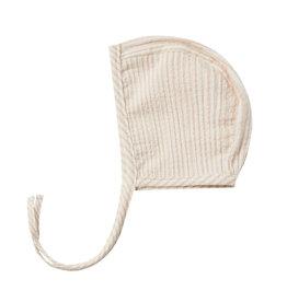 Quincy Mae Bonnet Petal Stripe