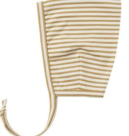 Quincy Mae Pixie Bonnet Gold Stripe 010GS