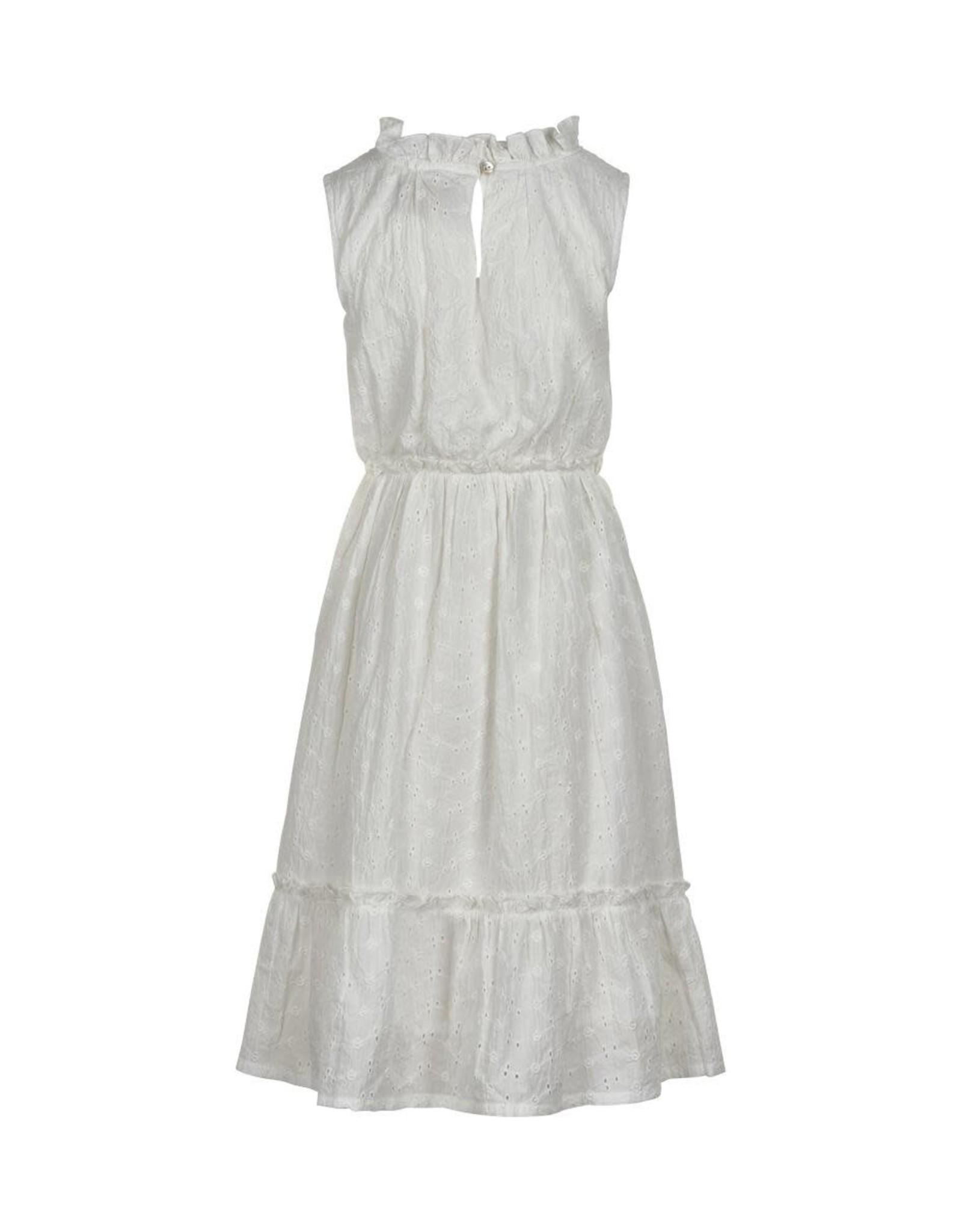 Creamie White Eyelet Dress